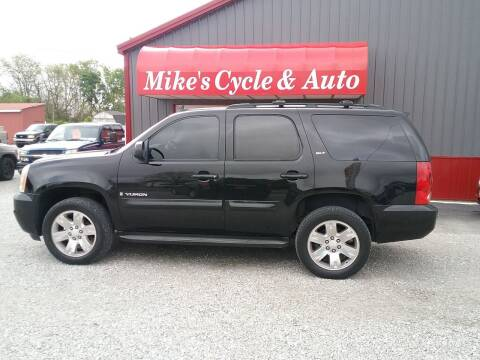 2008 GMC Yukon for sale at MIKE'S CYCLE & AUTO in Connersville IN