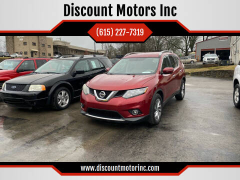 2014 Nissan Rogue for sale at Discount Motors Inc in Nashville TN