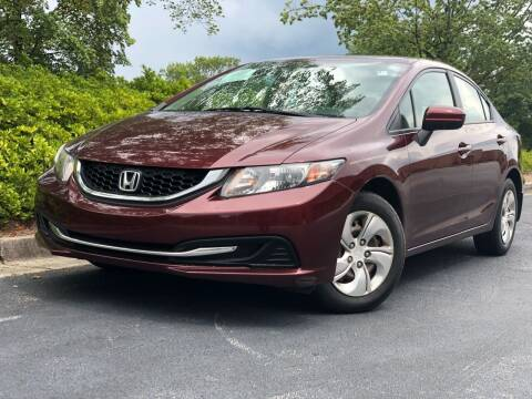 2015 Honda Civic for sale at William D Auto Sales in Norcross GA
