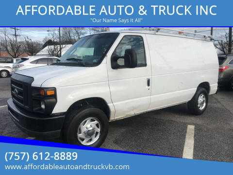 2008 Ford E-Series Cargo for sale at AFFORDABLE AUTO & TRUCK INC in Virginia Beach VA