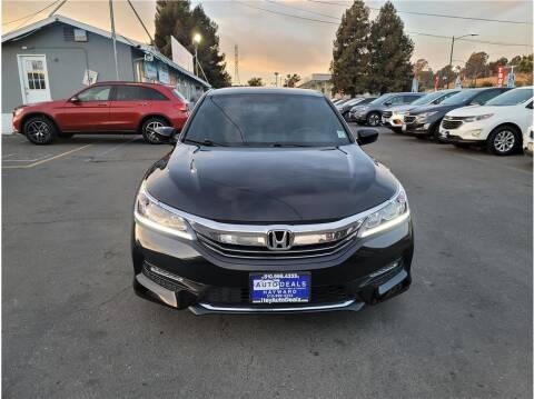 2016 Honda Accord for sale at AutoDeals in Hayward CA