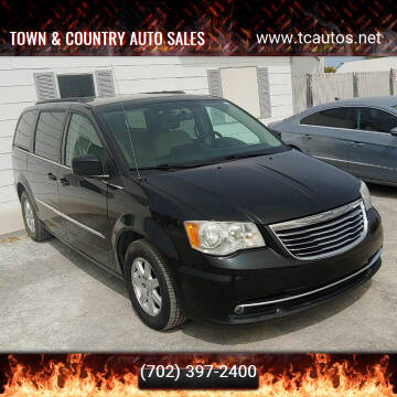 2012 Chrysler Town and Country for sale at TOWN & COUNTRY AUTO SALES in Overton NV