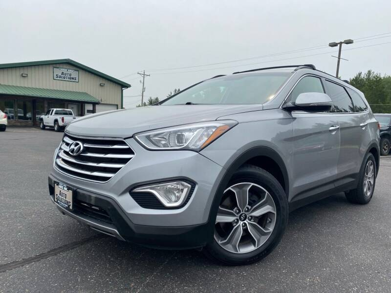 2013 Hyundai Santa Fe for sale at Lakes Area Auto Solutions in Baxter MN