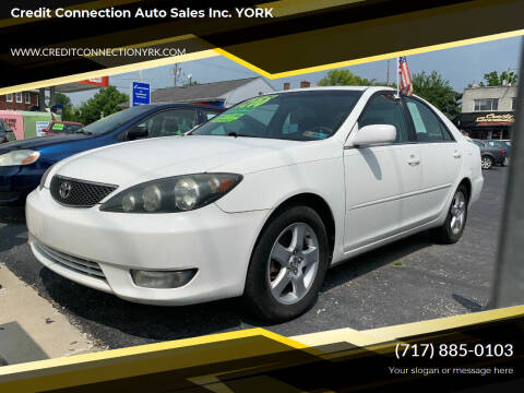2005 Toyota Camry for sale at Credit Connection Auto Sales Inc. YORK in York PA