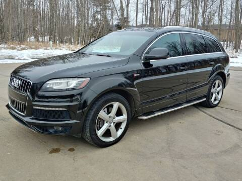 2015 Audi Q7 for sale at Autolika Cars LLC in North Royalton OH