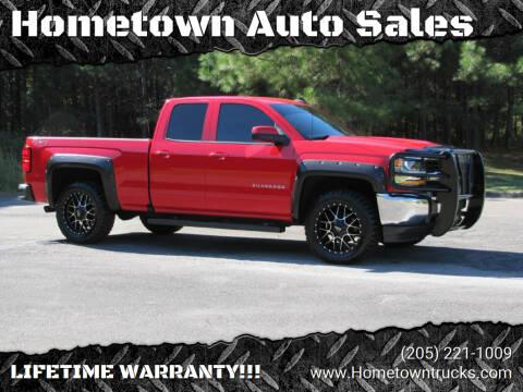 2018 Chevrolet Silverado 1500 for sale at Hometown Auto Sales - Trucks in Jasper AL