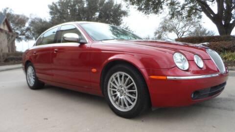 2007 Jaguar S-Type for sale at Exhibit Sport Motors in Houston TX