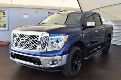 2017 Nissan Titan for sale at 1st Class Motors in Phoenix AZ