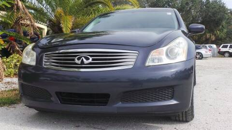 2009 Infiniti G37 Sedan for sale at Southwest Florida Auto in Fort Myers FL