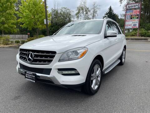 2014 Mercedes-Benz M-Class for sale at CAR MASTER PROS AUTO SALES in Lynnwood WA