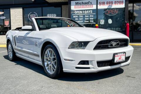 2014 Ford Mustang for sale at Michaels Auto Plaza in East Greenbush NY