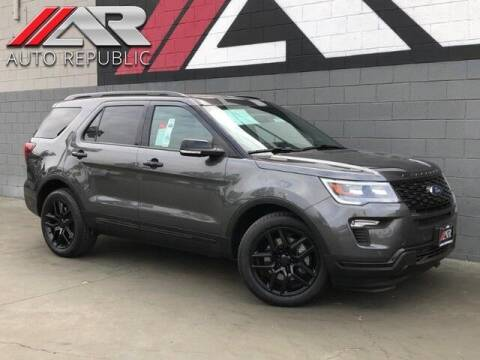 2019 Ford Explorer for sale at Auto Republic Fullerton in Fullerton CA