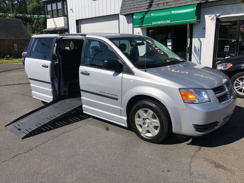 2008 Dodge Grand Caravan Wheelchair Van for sale at Auto Sales Center Inc in Holyoke MA