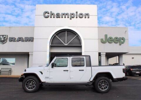 2021 Jeep Gladiator for sale at Champion Chevrolet in Athens AL