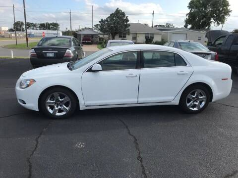 2010 Chevrolet Malibu for sale at Westok Auto Leasing in Weatherford OK