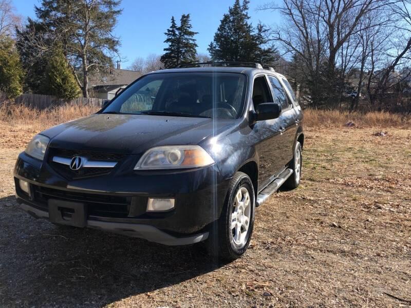 2006 Acura MDX for sale at Kimp Enterprises LLC in Waterbury CT