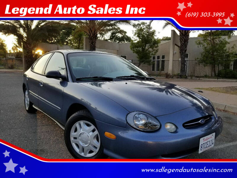 1999 Ford Taurus for sale at Legend Auto Sales Inc in Lemon Grove CA