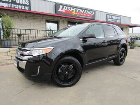 2014 Ford Edge for sale at Lightning Motorsports in Grand Prairie TX