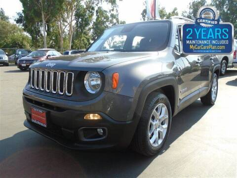 2017 Jeep Renegade for sale at Centre City Motors in Escondido CA