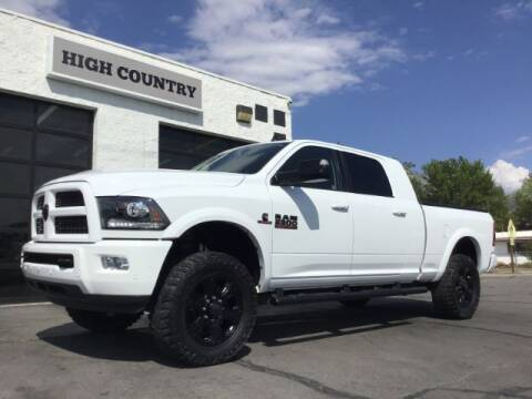 2017 RAM Ram Pickup 2500 for sale at High Country Motor Co in Lindon UT