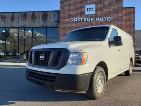 2016 Nissan NV Cargo for sale at Dastrup Auto in Lindon UT