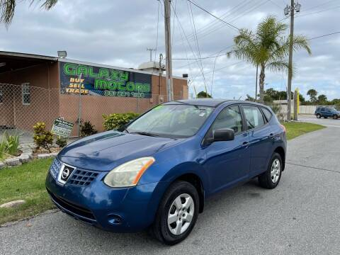2008 Nissan Rogue for sale at Galaxy Motors Inc in Melbourne FL