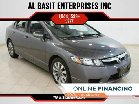 2010 Honda Civic for sale at AL BASIT ENTERPRISES INC in Riverside CA