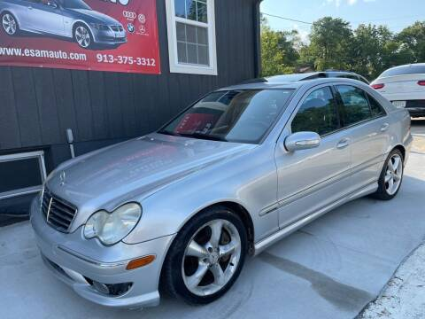 2005 Mercedes-Benz C-Class for sale at Euro Auto in Overland Park KS