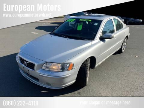 2008 Volvo S60 for sale at European Motors in West Hartford CT
