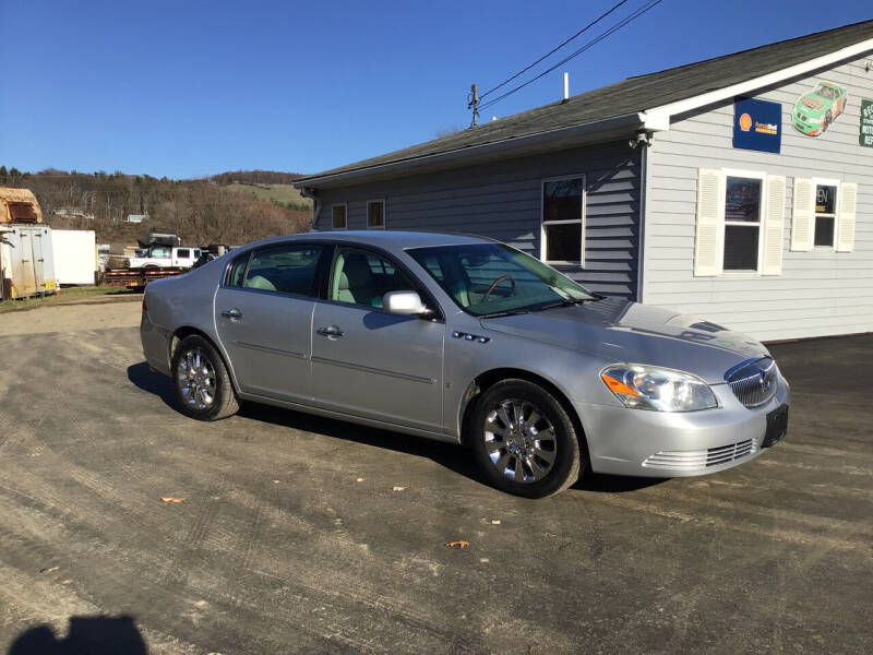 2009 Buick Lucerne for sale at AFFORDABLE AUTO SVC & SALES in Bath NY