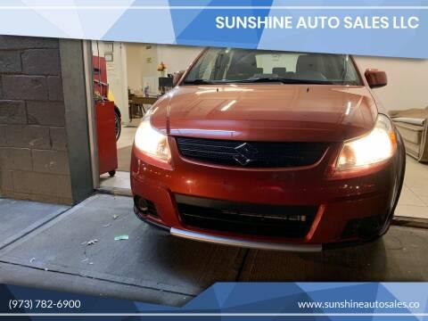2009 Suzuki SX4 Crossover for sale at SUNSHINE AUTO SALES LLC in Paterson NJ