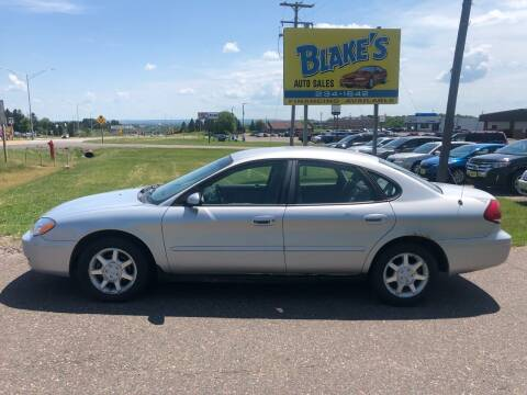 2006 Ford Taurus for sale at Blake's Auto Sales in Rice Lake WI