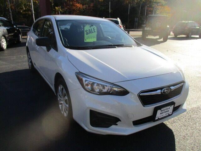 2017 Subaru Impreza for sale at Route 4 Motors INC in Epsom NH
