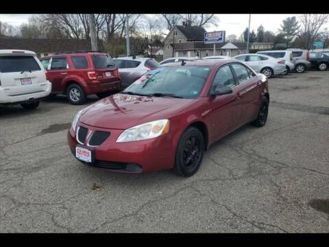 2009 Pontiac G6 for sale at Colonial Motors in Mine Hill NJ