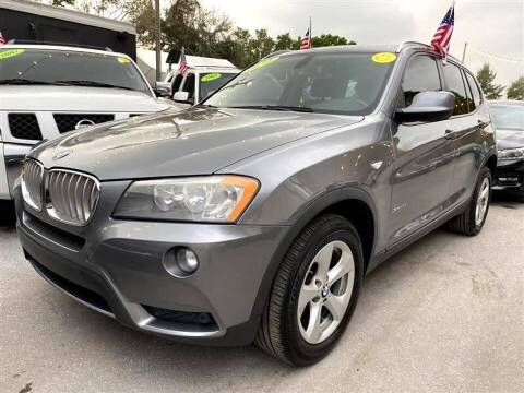 2011 BMW X3 for sale at EZ Own Car Sales of Miami in Miami FL