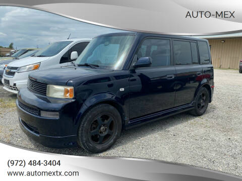 2004 Scion xB for sale at AUTO-MEX in Caddo Mills TX