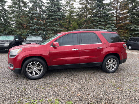2013 GMC Acadia for sale at Renaissance Auto Network in Warrensville Heights OH