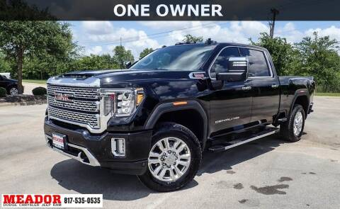 2020 GMC Sierra 2500HD for sale at Meador Dodge Chrysler Jeep RAM in Fort Worth TX