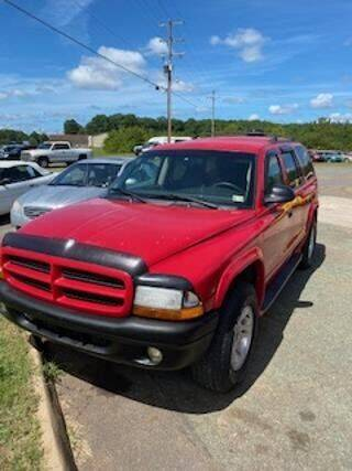 2001 Dodge Durango for sale at Lighthouse Truck and Auto LLC in Dillwyn VA