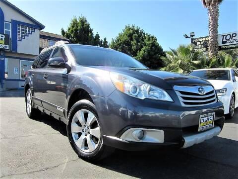 2011 Subaru Outback for sale at Top Tier Motorcars in San Jose CA