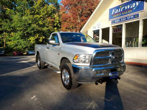 2014 RAM Ram Pickup 2500 for sale at Fairway Auto Sales in Rochester NH