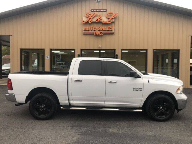 2015 RAM Ram Pickup 1500 for sale at K & L AUTO SALES, INC in Mill Hall PA