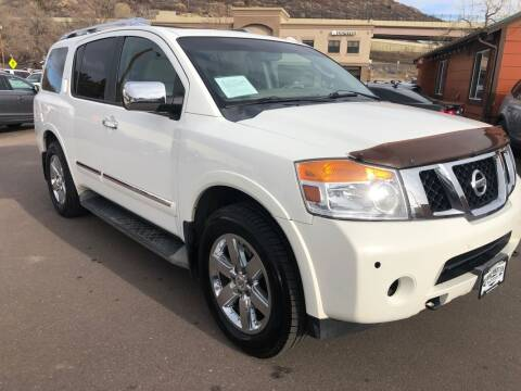 2012 Nissan Armada for sale at BERKENKOTTER MOTORS in Brighton CO