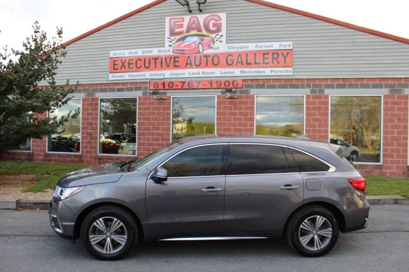 2019 Acura MDX for sale at EXECUTIVE AUTO GALLERY INC in Walnutport PA