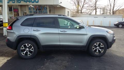 2014 Jeep Cherokee for sale at Elite Auto Sales in Willowick OH