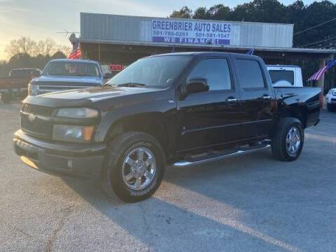 2009 Chevrolet Colorado for sale at Greenbrier Auto Sales in Greenbrier AR