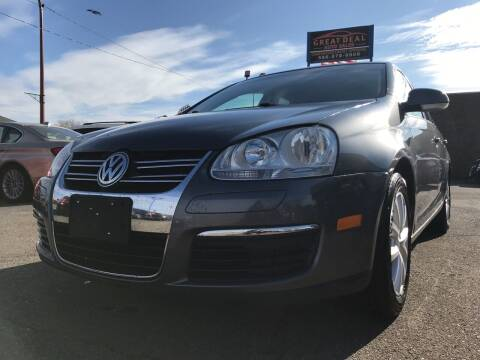 2010 Volkswagen Jetta for sale at GREAT DEAL AUTO SALES in Center Line MI