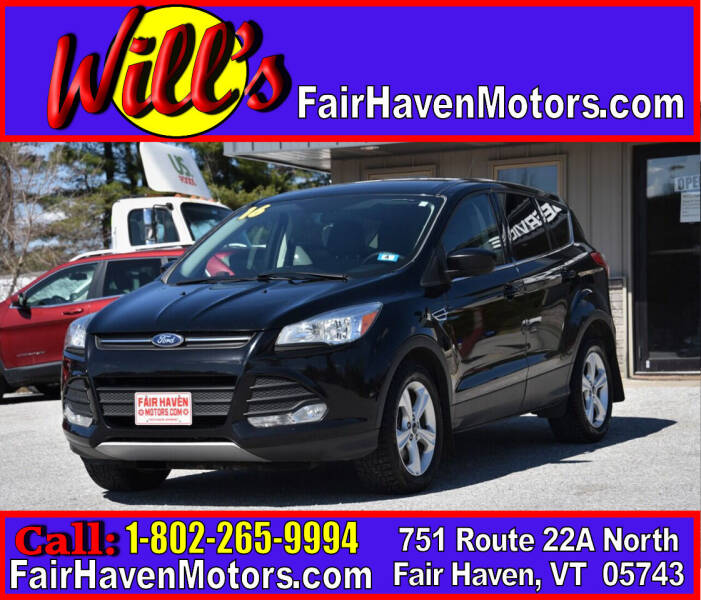 2016 Ford Escape for sale at Will's Fair Haven Motors in Fair Haven VT