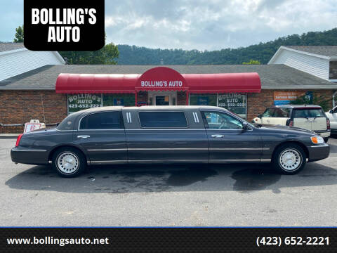 1999 Lincoln Town Car for sale at BOLLING'S AUTO in Bristol TN