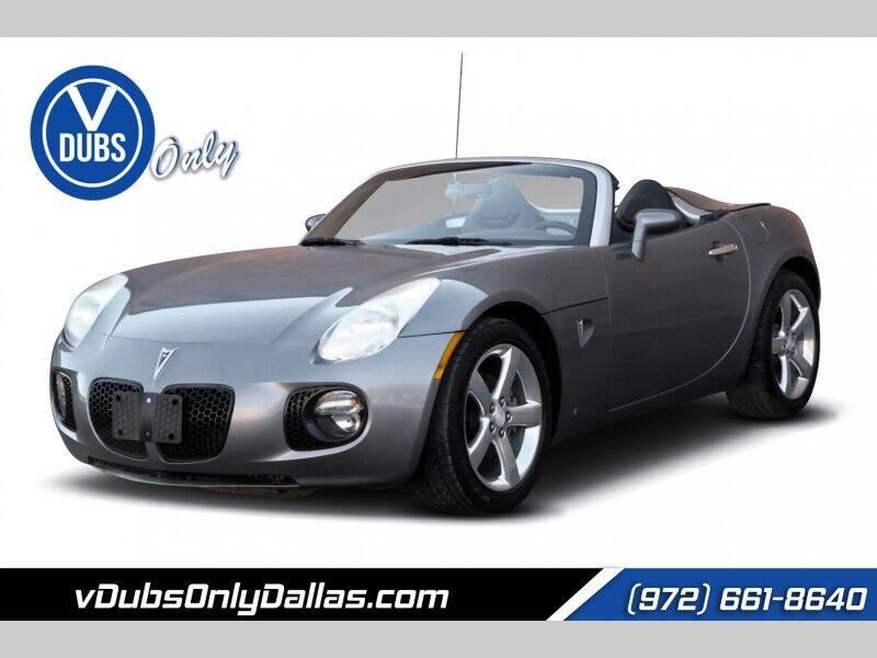 2007 Pontiac Solstice for sale in Dallas, TX